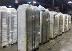 Baltimore CBP Seizes $1M in Counterfeit Stainless Steel Sinks (CBP Photography) Tags: cbp customs border prtoection seized illegal sinks sink trademark ipr intellecturalpropertyrights stainless steel counterfeit fake markings