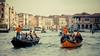 Party in Orange (Tom Levold (www.levold.de/photosphere)) Tags: venice xpro2 xf18135mm venedig fuji venezia water wasser canalegrande gondolas gondolieri architecture architektur gebäude buildings