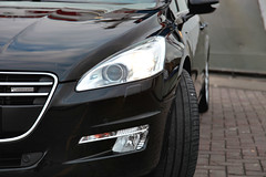 Peugeot 508-9 (gabrielgs) Tags: peugeot 508 peugeot508 car drive photography photoshoot vehicle luxurious 2012 auto scheveningen fotoshoot carshoot black francecar frenchcar france fifthgear
