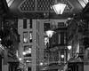 joining the dots (Cosimo Matteini) Tags: cosimomatteini ep5 olympus pen m43 mzuiko45mmf18 london city cityoflondon squaremile leadenhallmarket lanterns christmas decorations bw joiningthedots