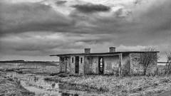 Forladt bolig i Strande - Abandoned House in Strande BW