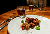 Table 9 - Short Story Brewing Pairing 2.8.181094,February 07, 2018 (sheryip) Tags: short story brewing food foodporn morgantown wv wvu sher yip beer pairing craft general tso chicken