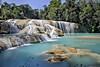 Turquoise paradise (Chemose) Tags: mexico mexique chiapas aquaazul cascade chute waterfall eau water rivière river turquoise paradis paradise nature hdr canon eos 7d mars march
