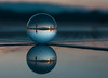 Planet Zadar (V Photography and Art) Tags: sunset zadar croatia glass glassball greetingtothesun installation refraction reflection doublereflection people silhouettes blue sea seaside light speedoflight sphere