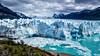 Perito Moreno Glacier in the sunlight after the demolition (PeterLademann https://ladpeter.wordpress.com) Tags: gh2 glacier gletscher peritomoreno argentina panasonic lagoargentino patagonia