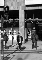 Walking in the sun (daniel.gogberg) Tags: street streetlife streets stockholm sthlm bw blackwhite blackandwhite sverige sv svartvitt fuji fujixpro2 fujixpro fujifilm xpro2 xpro