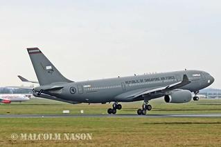A330-243MRTT EC-333 REPUBLIC OF SINGAPORE AIR FORCE 3