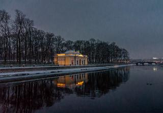 Night Scene of  St Petersburg