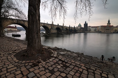 winter tones of prague (Sergey S Ponomarev -very busy) Tags: sergeysponomarev canon eos 70d hdr highdynamicrange landscape cityscape city citta europe travel tourism winter karlsbridge prague praha czechrepublic 2018 february febbraio paysage paesaggio river towers vltava efs1018mmf4556isstm сергейпономарев город туризм путешествия европа прага чехия пейзаж утро рассвет longexposure длиннаявыдержка влтава morning dawn sunrise twilight