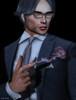 Bang! (Jos Loll) Tags: bang smoke suit man