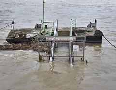 Hochwasser (hbothmann) Tags: köln nrw deutschland cologne colônia colonia hochwasser schiffanlegestelle