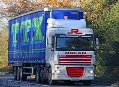 DAF XF John Raymond Transport VX61 DXW (SR Photos Torksey) Tags: transport truck haulage hgv lorry lgv logistics road commercial vehicle traffic freight daf xf john raymond