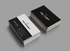 5.Business Cards Mockup (mdshawonreza) Tags: businesscard card clean color colorful cool corporate creative elegant minimal new 2018 2017 personal print printtemplate template professional proposal visitingcard black ready
