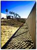 Tamarack State Beach, Carlsbad, CA on a bright, sunny January day. (SteveDresslerPhotography) Tags: beach carlsbad fence