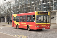 RRT 50529 @ Milton Keynes Central train station (ianjpoole) Tags: red rose travel dennis dart plaxton pointer bu05hfz 50529 working route 25 milton keynes central station bletchley bus this is former london dp39 abellio 8039