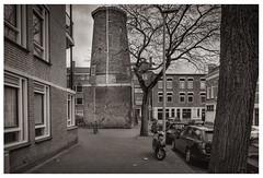 """Molen """"De Graankorrel"""" (zhstm) Tags: mill delapidated ruin monument delfshaven"""