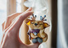 Shaman who loves to sleep (horoshka) Tags: shaman toy figurine arttoy artdoll art handmade polymerclay cernit