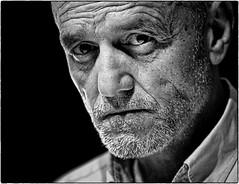 Mr. Xavier (lowden025) Tags: portrait man bw blackwhite blancinegre blancoynegro retrat retrato faces