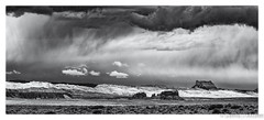 Bright and Stormy Steppes (dmcbee1) Tags: utah dessert steppes blackandwhite bw landscape nikon 135mm storm sky turmoil clouds weather nature light texture