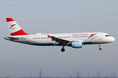 Austrian Airlines (OS/AUA) / A320-214 / OE-LBW / 03-25-2017 / LHR (Mohit Purswani) Tags: oelbw austrianairlines vienna austria ahkgap os aua narrowbody civilaviation commercialaviation planespotting aviationphotography canon 7d airlines aircraft aviation lhr egll london unitedkingdom uk england finalapproach landing a320 a320200 airbus airbusindustrie airbusa320