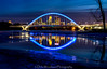 January Blues (Delia Woodward) Tags: lowry bridge minneapolis minnesota winter mississippi river nightphotography