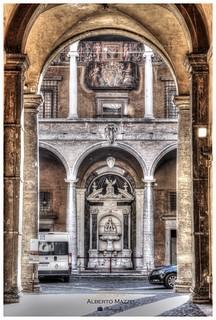 Palazzo del Commendatore (Rome-Italy)