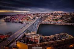 Old City, Porto - Portugal (paulosilva3) Tags: cityscape oporto porto blue hour sunset bridge dluís longexpo canoneos6d samyang14mm manfrotto lowepro progrey filters usa portugal samyang 14mm
