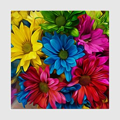 Passion (Christina's World-) Tags: colorful artistic art border botany creative california colors digitalart dramatic digitalpainting exotic exoticimage flowers bouquet green red yellow blue daisies garden light nature outdoors painterly plant painting square romantic restaurant sandiego stilllife textures unitedstates vase yellowflowers brilliant brightcolors bright