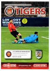 2017/18 Hyde United v FC United of Manchester (Wrexham Programmes) Tags: 201718 football programme fcunited manchester fcum hyde