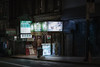 Foot reflexology (karinavera) Tags: city longexposure night photography cityscape urban ilcea7m2 sanfrancisco chinese store street people chinatown