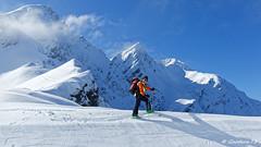 Au col de Roche Plane (Goodson73) Tags: didier bonfils dgoodson goodson73 ski neige roche plane beaufortain randonnée