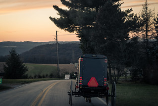 The Amish ride