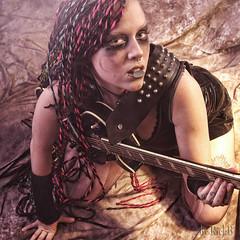 Play with me (RickB500) Tags: portrait girl rickb rickb500 music guitar instruments