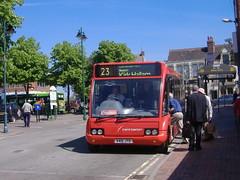 trent barton 401 Heanor (Guy Arab UF) Tags: trent barton 401 v401jto optare solo m920 bus heanor wilmot street derbyshire wellglade buses wellgladegroup