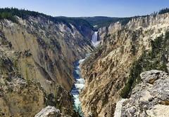 Lower Falls of the Yellowstone (evakatharina12) Tags: yellowstone river falls lowerfalls water gorge trees nationalpark wyoming rocks artistpoint