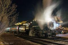 North Pole Express (Dan A. Davis) Tags: newhopeivyland newhopeandivylandrailroad nhi newhope buckscounty pa pennsylvania railroad passengertrain locomotive steamlocomotive steamengine nhi40 train station