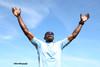 WINNER'S QUALITY (biboo-photography) Tags: motivation mindset biboophotography champion athlete black victory bluesky energy vibration power succes finishline accomplishment winner warrior nike positivity