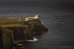 the Lighthouse (cfaobam) Tags: neist point coast scotland lighthouse skye isle cliff europe meer islands scottish landschaft ufer langzeitbelichtung long exposure landscape color sun water travel photography europa nature national geographic cfaobam wasser sony a7r globetrotter outdoor felsen himmel bucht