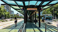Buenos Aires en verano (Miradortigre) Tags: metrobus buenosaires argentina city ciudad street bus bondi colectivo urban calle アルゼンチン 阿根廷 аргентина