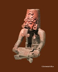 Post photoshopped. He's been sticking his tongue out for about 2000 years. (JerimiahRico) Tags: precolombia museum deyoung artgallery exhibit old ancient cool photoshopped art teotihuacan