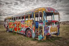 No Further (D E Pabst Photography) Tags: washington washtucna adamscounty kenkesey bus centralwashington graffiti merrypranksters automotive columbiabasin abandoned neglected