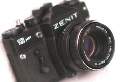 "Zenit 12XP   1983-1994 (alex ""heimatland"") Tags: 19831994 slr analog krasnogorski mekhanicheskii zavod kmz cccp russia lens mc helios44m4 58mm 12 opticalmechanical valdai kmzzenit"