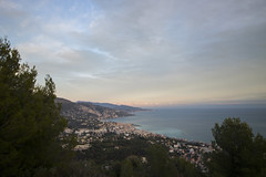 2018 winter on the Riviera [VI] (Olivier So) Tags: france frenchriviera riviera sunset sky clouds roquebrune roquebrunecapmartin menton