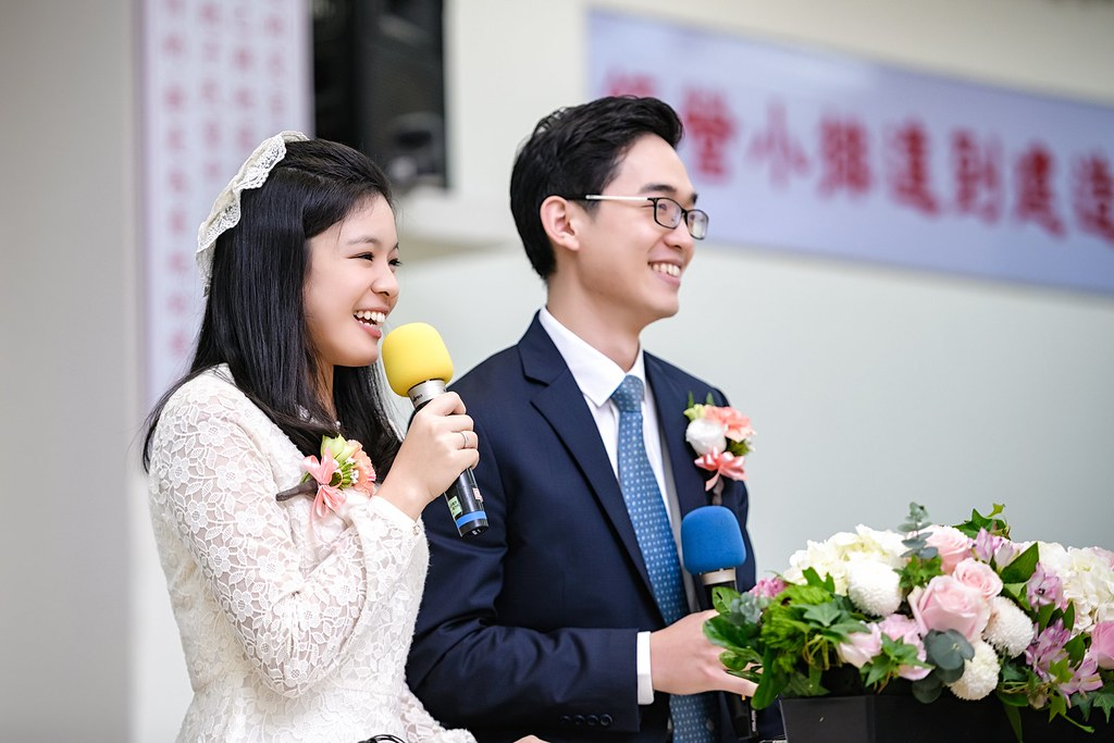 【婚攝】念宇 & 靜雯 / 台南市召會裕忠路會所