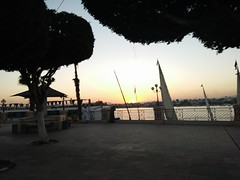 (nanisalleh) Tags: river nile silhouette sunset