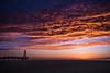Port Leucate (D@rkne§§260) Tags: sunrise levédesoleil nuage cloud ciel sky redsky rouge plage beach sea mer mediterranée nikond750