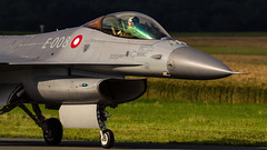 Danish F-16 E-008 (william.spruyt) Tags: denmark airforce f16 fighter jet airplane aircraft belgium