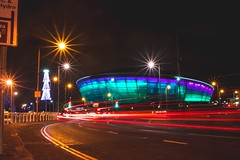 The SSE Hydro glasgow (viviencampbell) Tags: photography venue gigs longexposure lighttrail thessehydro thehydro ssehydro scotland glasgow
