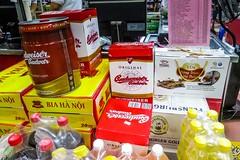 Stopa domova v daleké cizině (zcesty) Tags: vietnam20 pivo vietnam caobang budvar dosvěta tpcaobằng caobằng vn