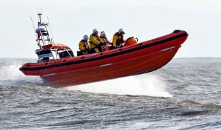 Atlantic 85 'Rose Of The Shires' on a training exercise